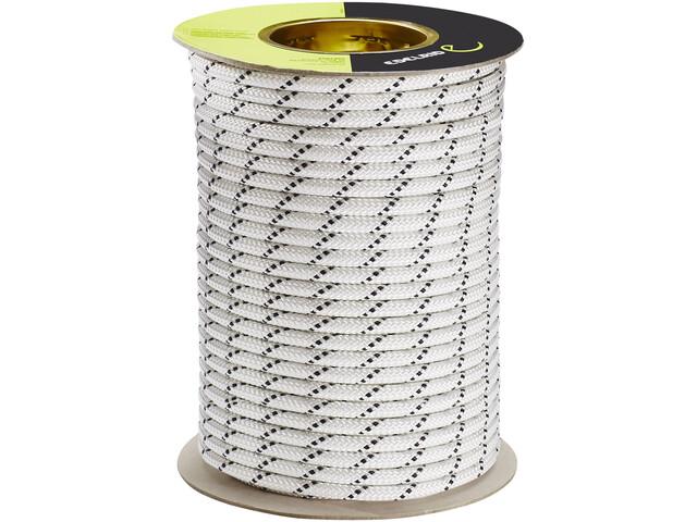 Edelrid Performance Static Corda 9,0mm x 50m, bianco/nero